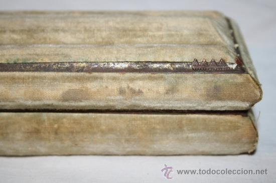 Antigüedades: AB054 ORIGINAL ABANICO. PAÍS EN TELA PINTADA A MANO. S. XIX - Foto 24 - 31693312