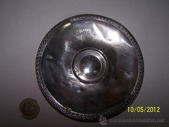 Antigüedades: BANDEJA PLATA LEY - Foto 3 - 31720448