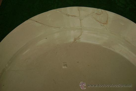 Antigüedades: BANDEJA DE CARTAGENA EN COLOR ROSA - Foto 5 - 26316930