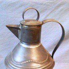 Antigüedades: ANTIGUA ACEITERA DE CHAPA GRANADA. Lote 31798355