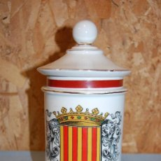 Antigüedades: TARRO DE FARMACIA O ALBARELO CATALÁN. Lote 31810218