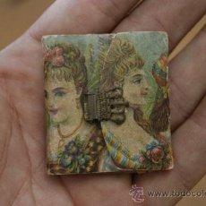 Antigüedades: PEQUEÑA AGENDA MODERNISTA DE LOS AÑOS 30S. PRECIOSA.. Lote 31845367
