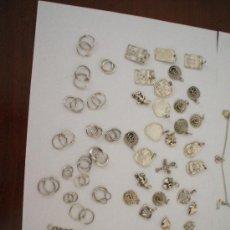 Antigüedades: INCREIBLE LOTE DE PIEZAS EN PLATA DE LEY . Lote 31813912