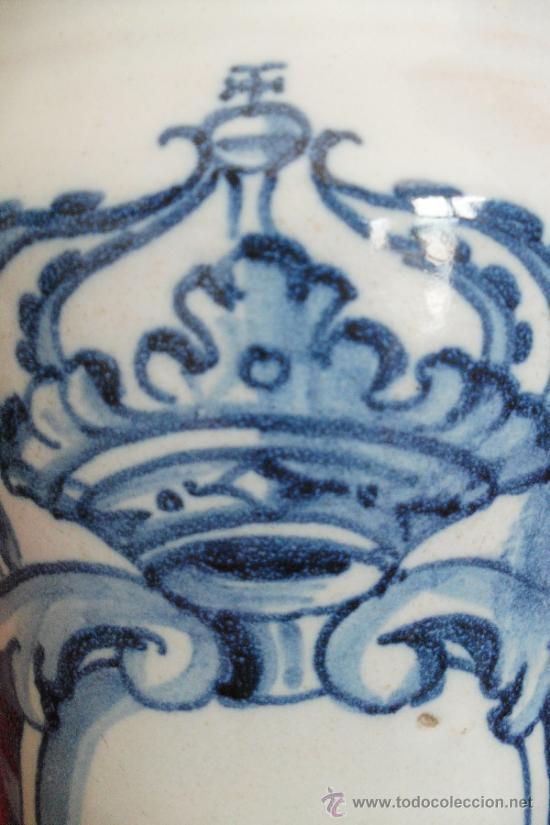 Antigüedades: ALBARELOS TALAVERA SIGLO XVIII - Foto 2 - 31811143