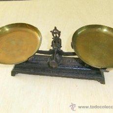 Antigüedades: BALANZA DE PLATILLOS. Lote 31828299