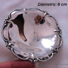 Antigüedades: BANDEJITA DE PLATA DE LEY CON TRES PATAS. Lote 31833380