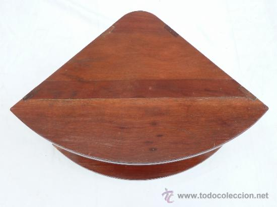 Antigüedades: REPISA DOBLE RINCONERA DE CAOBILLA - Foto 5 - 31851435
