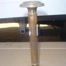 Antigüedades: CANDELABRO DE ALPACAR PARA CABLEAR. Lote 31861220