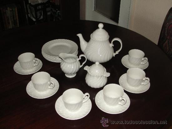 Juego de te de porcelana inglesa royal tudor comprar - Porcelana inglesa antigua ...