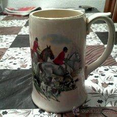 Antigüedades: JARRA DE CERVEZA PORCELANA INGLESA MUY BONITA. Lote 31868248