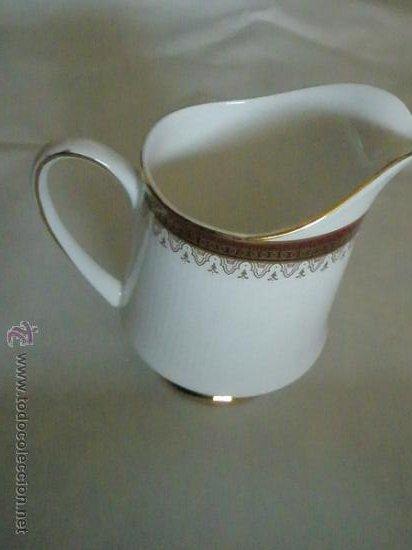 LECHERA DE PORCELANA-ROYAL ALBERT-HOLYROOD-NUEVA. (Antigüedades - Porcelanas y Cerámicas - Inglesa, Bristol y Otros)