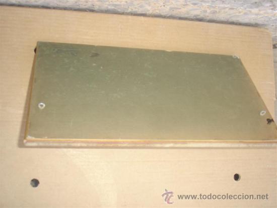 Antigüedades: percheron con espejo madera dorada - Foto 2 - 31907308