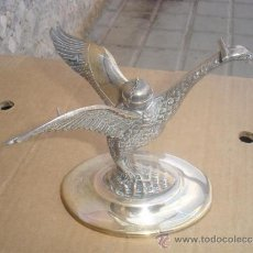 Antigüedades: QUEMADOR CON FIGURA DE AGULA DE ALPACAR. Lote 31907332