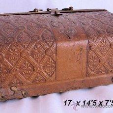 Antigüedades: NECESER CAJA ART NOUVEAU COSTURA O MANICURA MODERNISTA. Lote 31939457