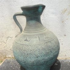 Antigüedades: JARRON GRANDE DE TERRACOTA. Lote 31925026