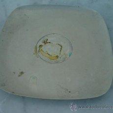 Antigüedades: BANDEJA DE ALPACA PEQUEÑA. Lote 31930758