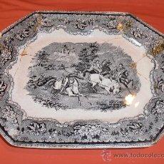 Antigüedades: BANDEJA OCHAVADA DE CARTAGENA. Lote 31936071