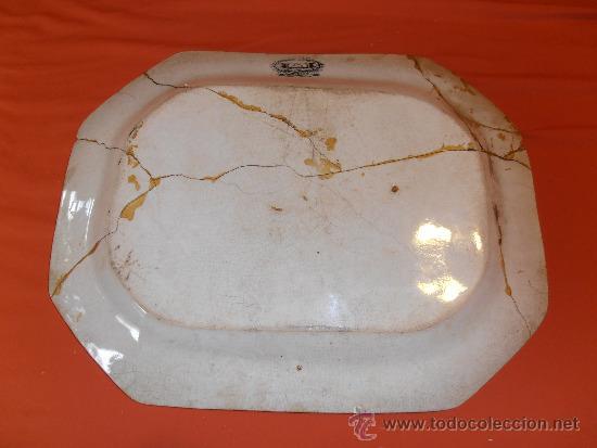 Antigüedades: BANDEJA OCHAVADA DE CARTAGENA - Foto 2 - 31936071
