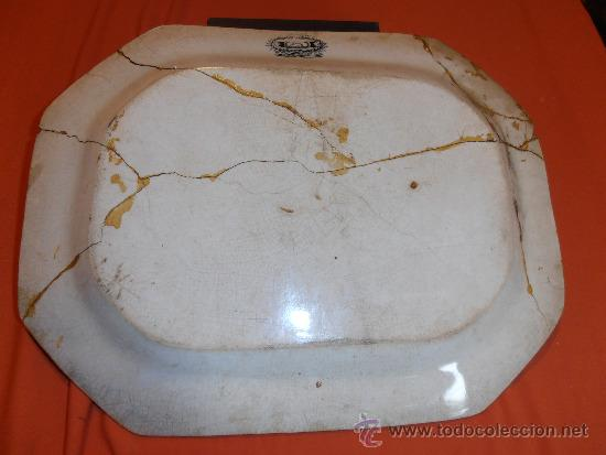 Antigüedades: BANDEJA OCHAVADA DE CARTAGENA - Foto 4 - 31936071
