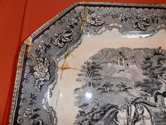 Antigüedades: BANDEJA OCHAVADA DE CARTAGENA - Foto 6 - 31936071