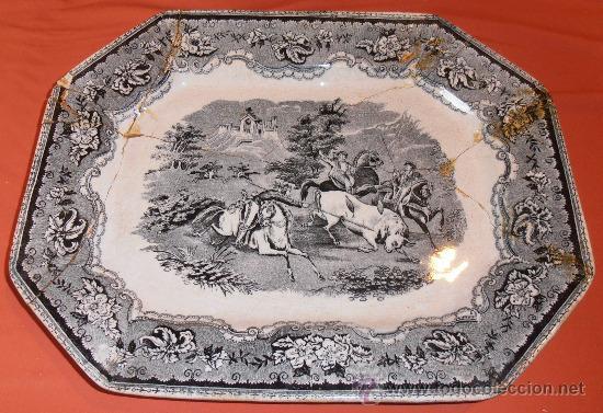 Antigüedades: BANDEJA OCHAVADA DE CARTAGENA - Foto 10 - 31936071
