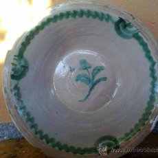 Antigüedades: ANTIGUO LEBRILLO GRANADINO, LAÑADO.. Lote 31942011