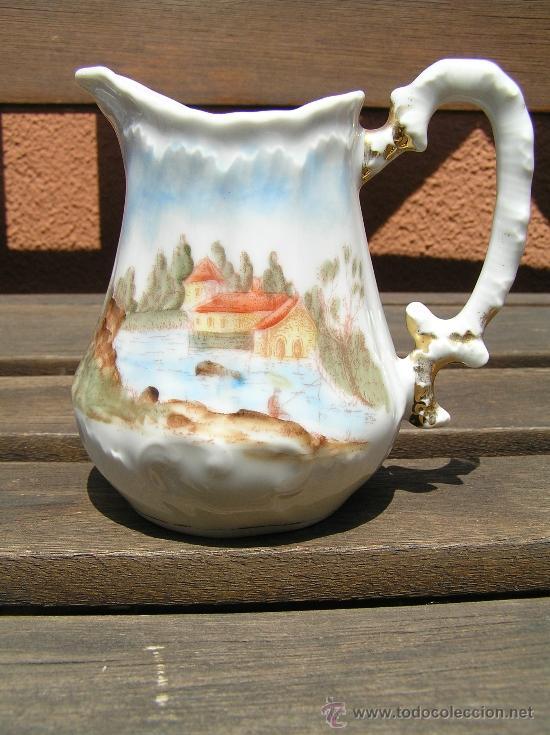Antigüedades: antiguo juego de té. - Foto 7 - 31942979