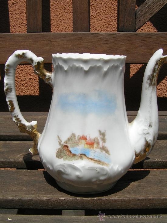 Antigüedades: antiguo juego de té. - Foto 11 - 31942979