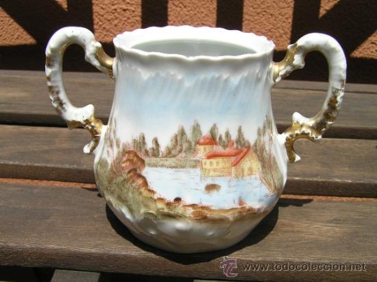 Antigüedades: antiguo juego de té. - Foto 5 - 31942979