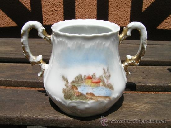 Antigüedades: antiguo juego de té. - Foto 3 - 31942979