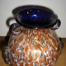 Antigüedades: JARRON DE CRISTAL DE MURANO. 19CM ALTO. Lote 31951660