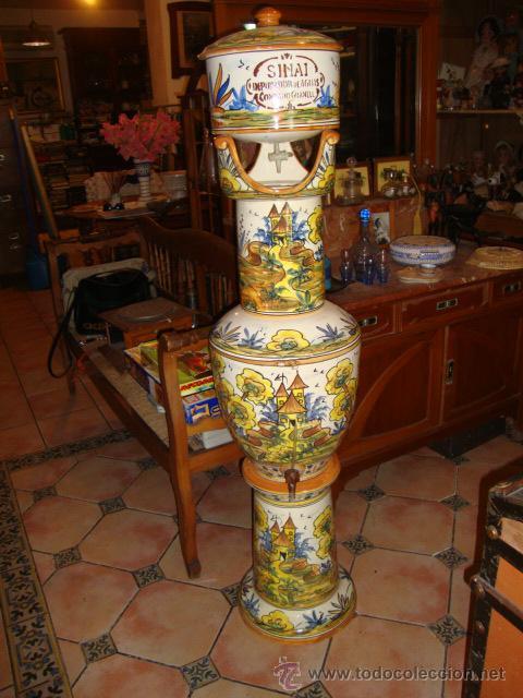 Antiguo Filtro Sinai Depurador De Aguas Conrado Comprar