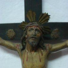 Antigüedades: ANTIGUO CRISTO DE OLOT. Lote 31969261