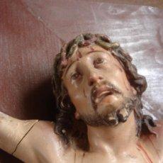 Antigüedades: ANTIGUO CRISTO DE OLOT. Lote 31969348