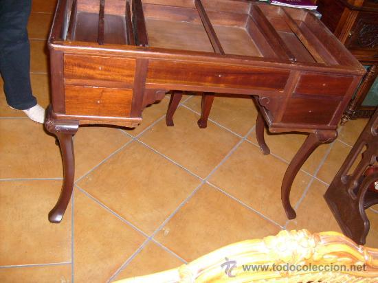 MESA DE DESPACHO, ESCRITORIO (Antigüedades - Muebles Antiguos - Mesas de Despacho Antiguos)