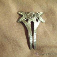 Antigüedades: PRECIOSA HORQUILLA EN PLATA DE LEY ANTIGUA. Lote 31982729