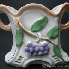 Antigüedades: PALILLERO MODERNISTA 1900 - 1920 - PORCELANA BISCUIT - PERFECTO - ART NOUVEAU. Lote 31987432