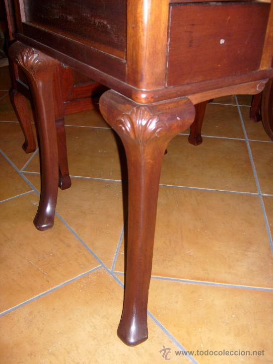 Antigüedades: mesa de despacho, escritorio - Foto 3 - 42293263