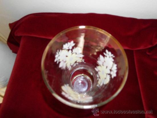 Antigüedades: Florero de Cristal PINTADO A MANO - Foto 3 - 31999761