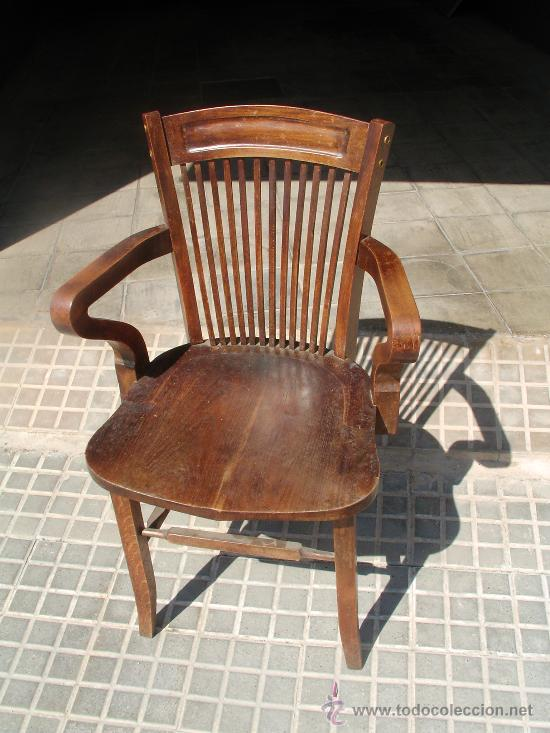 Antigua silla de oficina comprar sillas antiguas en for Muebles de oficina clasicos