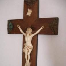 Antigüedades: CRISTO CRUCIFICADO MUY ANTIGUO. Lote 48824002