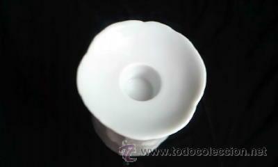 Antigüedades: Bonito porta velas en porcelana.Marca TIRSCHENREUTH BAVARIA GERMANY. - Foto 3 - 32016797