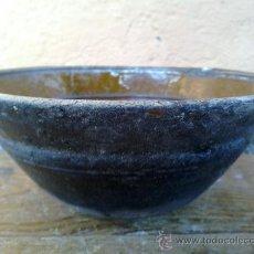 Antigüedades: ANTIGUA CAZUELA, OLLA, PUCHERO O CORCIO UTILIZADO PARA COCINAR EN EL FUEGO. Lote 32049515