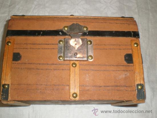 Antigüedades: ANTIGUO BAUL PEQUEÑO - Foto 2 - 32042582