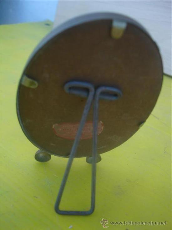 Antigüedades: pequeño portafoto ovalado - Foto 2 - 32050705
