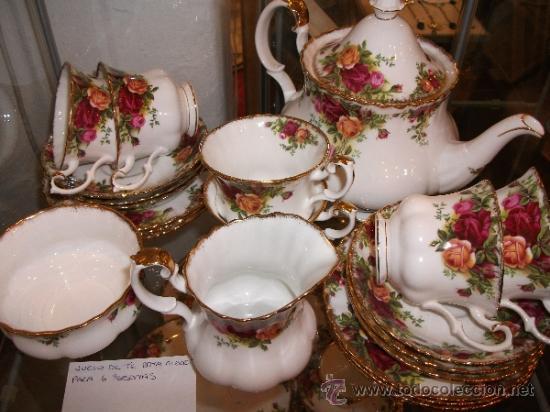 Juego de te ingles para 6 personas royal albe comprar for Porcelana en ingles