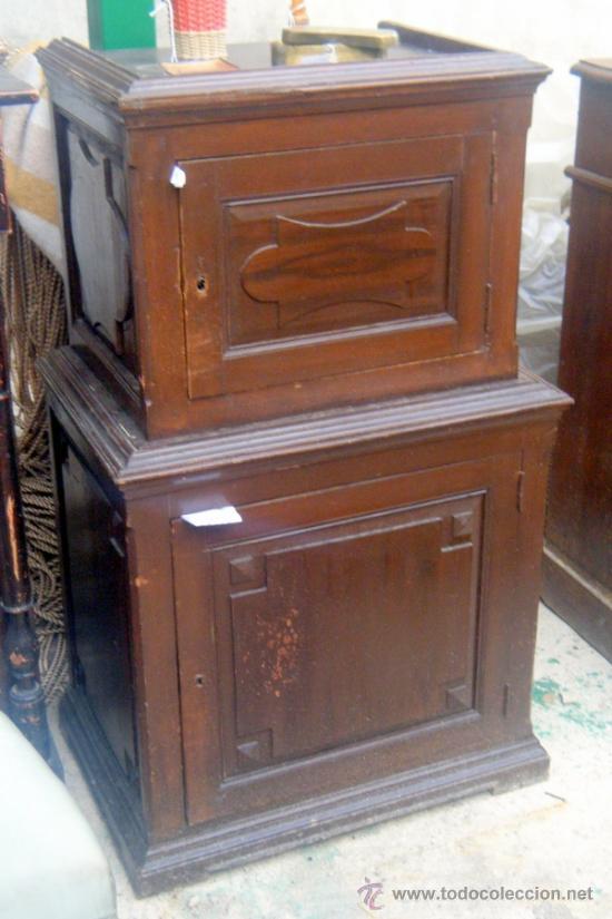 Mueble de caja fuerte principios del siglo xx comprar muebles auxiliares antiguos en - Muebles el siglo ...