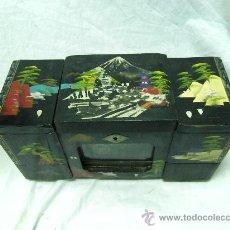 Antigüedades: CAJA-JOYERO ANTIGUO. Lote 32085578