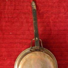 Antigüedades: GRAN SARTEN EN COBRE . Lote 32096697