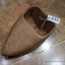 Antigüedades: ANTIGUA ZOQUETA DE SEGADOR. Lote 32107514